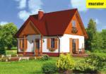 Проект одноэтажного дома с мансардой  - Муратор Ц150